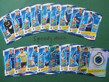 Topps Champions League 2016 17 all 18 Brugge Cards Logo Team Mates Goal King