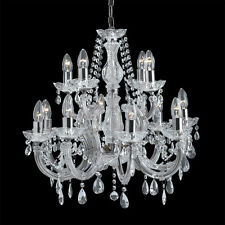 Marco Tielle 12 Light / 2 Tier Marie Therese Chandelier 399-12 Chrome