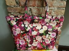 Kate Spade Jules Grant Street Floral Tote Everything's Coming Up Roses NWT