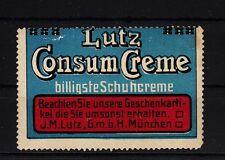 401228/ Reklamemarke - Lutz Consum Creme - Lutz GmbH München