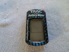TRAC 12-VOLT BATTERY METER - SHOWS REMAINING CHARGE & VOLTAGE - HAND HELD
