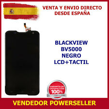 PANTALLA BLACKVIEW BV5000 LCD + TOUCH NEGRO TOUCH SCREEN DIGITALIZADOR