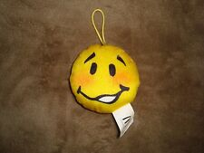 2016 McDONALDS EMOJI PLUSH Happy Meal Toy #12 TEE HEE HEE