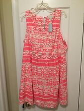 NEW Forever 21 Plus Size Tribal Print Dress