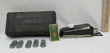 Vintage Singer 160506 Buttonholer w/ Attachments 5 Templates and Case Works