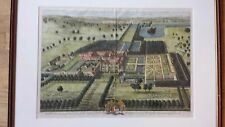 1707 Hand-Colored Engraving by Johannes Kipp After Leendert Knijff/Britannia Ill