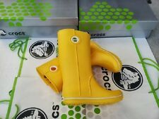 CROCS JAUNT GEORGIE RAIN SNOW BOOT SHOE~Yellow~Women 4 Mens 2~NWT