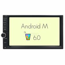 "Android 6.0 3G WIFI 7"" 1/2 DIN Car Radio Stereo No DVD Player GPS Nav Bluetooth"