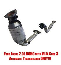 Catalytic Converter & Engine Flex Pipe 2000-2004 Focus 2.0L DOHC A/T ONLY!!!