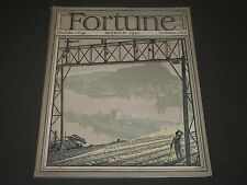 1930 MARCH FORTUNE MAGAZINE - GREAT COVER & ADS - F 2