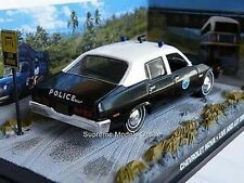 JAMES BOND CHEVROLET NOVA POLICE CAR LIVE & LET DIE R. MOORE PACKAGED M239 ~#~