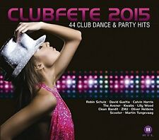 CLUBFETE 2015-44 CLUB DANCE & PARTY HITS 2 CD NEU