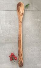 Extra Large Cooking Spoon Olive Wood / Serving Spoon / handcrafted, 22''