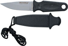 "Meyerco MC5337 Knives Fixed Knife Matte Finish Necklance 6 1/8"" Overall 3"" 440"