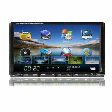 "Double 2 Din 7"" Touch Screen Car Stereo DVD Player Radio with SD/USB/BT/iPod"