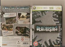 Dead rising XBOX 360/x box 360 zombies in mall évalué 18 steelbook version
