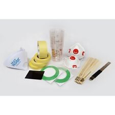Spray Paint Consumables Kit - Paint mixing cups, strainers, masking tape Burisch