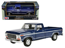 1979 Ford F-150 Pickup Truck Blue 1:24 Scale Collectible Diecast Model - 79346BL