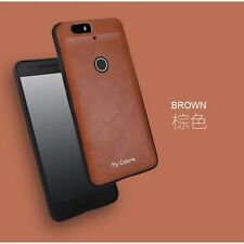 360° Protective Soft PU Leather + TPU Back Case Cover For Huawei Nexus 6P S001
