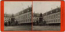 VINT.1870s Albumin Stereo AUSTRIA Wien*Innerer Burghof