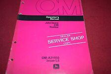 John Deere 23B Toolbar Operator's Manual DCPA4