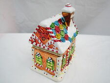 Mr. Christmas Gingerbread House Music Box with Animated Dancers MINT CONDITION