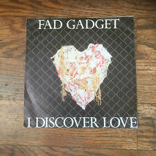FAD GADGET - I DISCOVER LOVE - NEW WAVE,SYNTH POP - FRANK TOVEY!!!