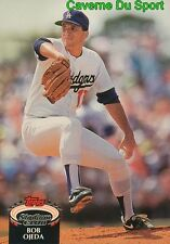 537  BOB OJEDA  LOS ANGELES DODGERS TOPPS BASEBALL CARD STADIUM CLUB 1992