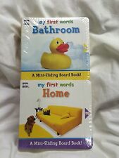 Your Baby Can Read My First Words 6 Mini-sliding Board Books Set Lot BRAND NEW