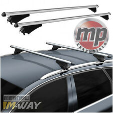 M-Way 120cm Lockable Aluminium Car Roof Rack Cross Rail Bars for VW Touareg 14
