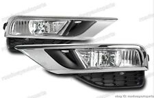 Clear Bumper Driving Fog Lights Pair w/cover Kits For Honda CRV 2015 2016