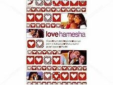 LOVE HAMESHA - BOLLYWOOD MUSIC DVD - FREE UK POST