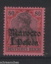 Deutsche Auslandspostämter - Marocco - 29 , **