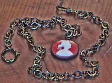 "A 16"" Strong Chain With A Cameo and a 3"" Chain For Whatever You May Want To Do!!"