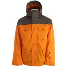 New 2014 DC Mens Servo Snowboard Jacket Large Autumn Glory