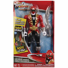 POWER RANGERS SUPER MEGAFORCE DELUXE FX Super Mega Ranger ROSSO 10""