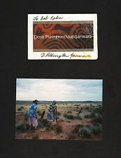 DORIS PILKINGTON signed card + photo * Follow the Rabbit-Proof Fence * Australia