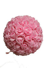 9 Inches Pink Rose Ball Pomander Kissing ball (USA Seller Fast Shipping)