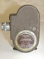 BELL & HOWELL CO FILMO COMPANION DOUBLE RUN EIGHT VINTAGE MOVIE CAMERA