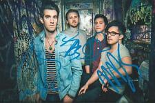 American Authors signed/auto Best Day of My Life Music RARE COA LOOK!!