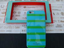 KATE SPADE i6 + Snap-On Cover HYBRID HardShell Blue iPhone 6 Plus Case BNIP