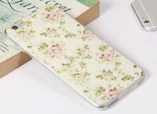 Flower Floral Protective Soft Case Skin Back Cover for Apple iPhone 6 Plus