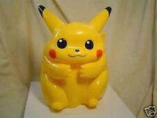 Pokemon Japanese PIKACHU Puppet 8 inches Licensed 1999 Action Figure Plush Card