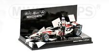 MINICHAMPS 060112 HONDA F1 model JENSON BUTTON 1st win GP Hungary 2006 1:43rd