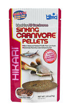 HIKARI SINKING CARNIVORE PELLETS 2.61 OZ FOOD FREE SHIPPING TO THE USA ONLY