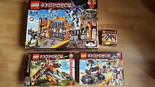 27 sets. Lego Exoforce Joblot - massive collection - all boxed with manuals