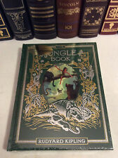 The Jungle Book by Rudyard Kipling - leather-bound - ships in a box - new sealed