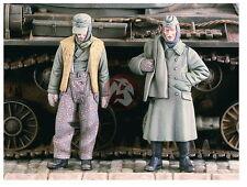 Verlinden 1/35 VP 2141 2 gefangene deutsche Soldaten Stalingrad No1