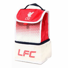 Official Licensed Football Product Liverpool Fade Lunch Bag 2 Compartment Gift