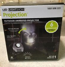 Halloween Outdoor Animated Skulls Spooky Face Projector Lightshow 71461